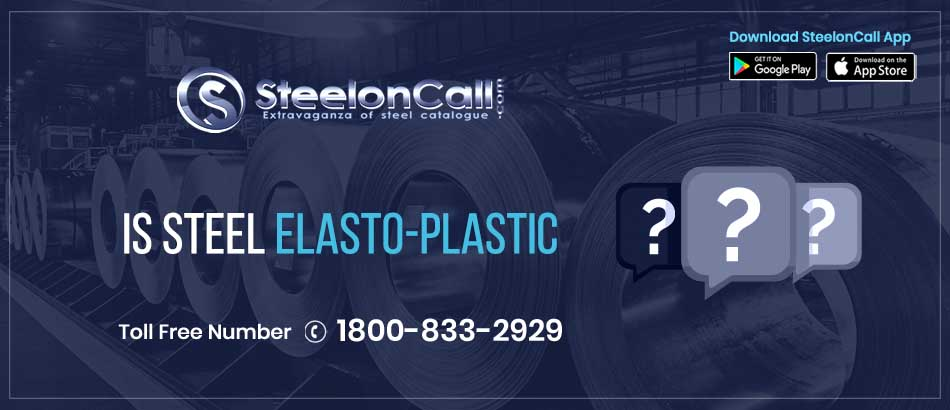 Is steel elasto-plastic?