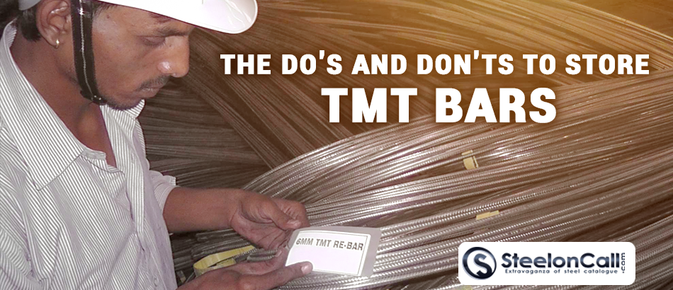 Do's and Don'ts to Store TMT Bars