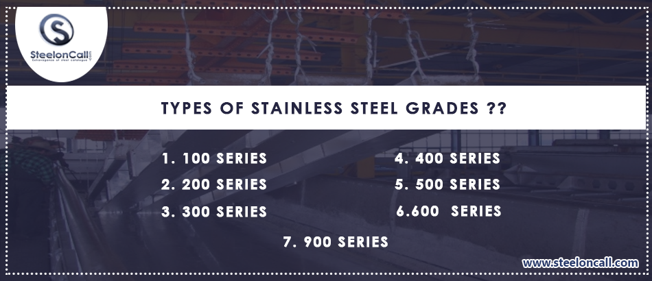 Types of Stainless Steel Grades