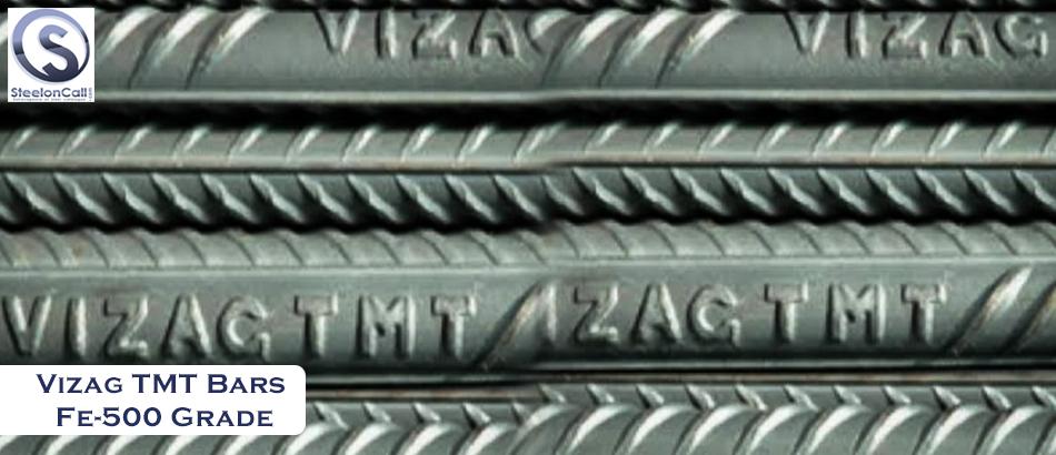 Vizag TMT Bars Fe-500 Grade