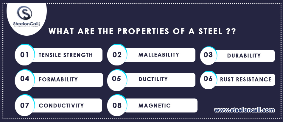 What Are The Properties Of A Steel?