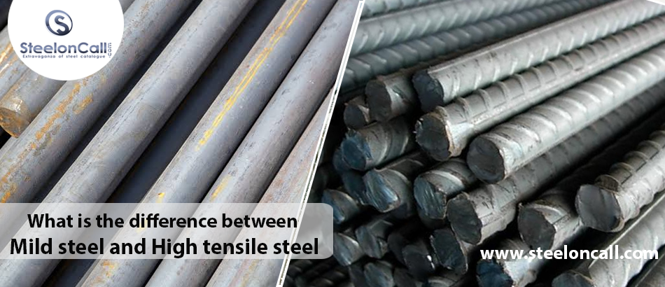What is the difference between mild steel and high tensile steel?